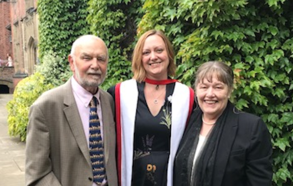Iolanthe Midwifery Research Fellow receives PhD
