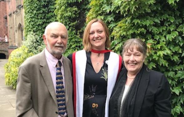 Iolanthe Midwifery Research Fellow receives PhD