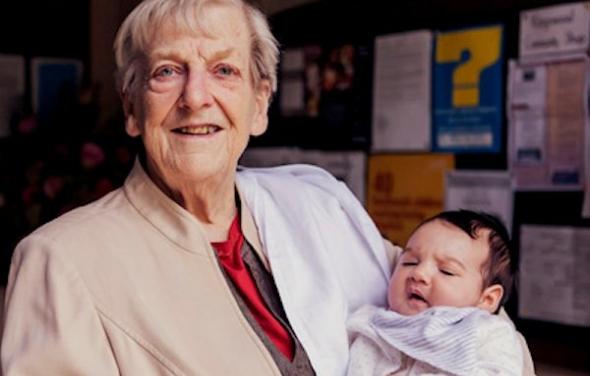 Joan Greenwood OBE