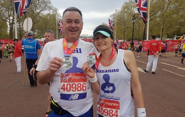 Our 2018 London Marathon Runners