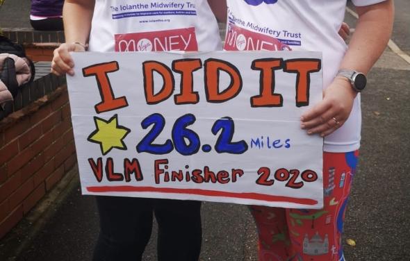 Our 2021 London Marathon runners